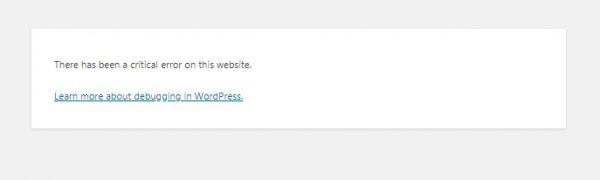 """WordPress """"Bu web sitesinde kritik bir hata var"""" Hatasının Çözümü"""